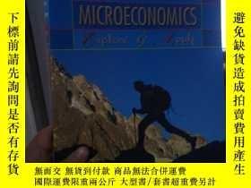 二手書博民逛書店MICROECONOMICS;Explore罕見& ApplyY