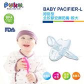 藍色企鵝PUKU   拇指型全矽膠較大安撫奶嘴 10318 好娃娃
