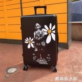 行李箱ins網紅新款拉桿箱女萬向輪20小型密碼旅行皮箱子24寸學生 ATF蘑菇街小屋