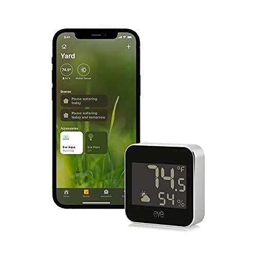 [2美國直購] 空氣質量監測器 Eve Weather 20EBS9901 Apple HomeKit Smart Home, Connected Outdoor