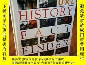 二手書博民逛書店U罕見X L History Fact FinderY12800