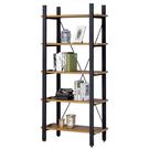【采桔家居】喬可 時尚3尺工業風開放式書櫃/收納櫃