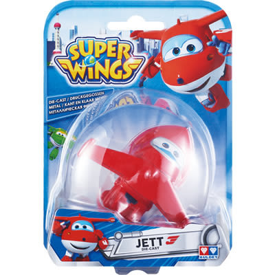 Super Wings 杰特 (合金材質、可滑行)