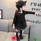 寶寶秋裝女寶寶連身裙春秋寶寶打底紗裙1-2-4歲小童公主裙氣質款第七公社