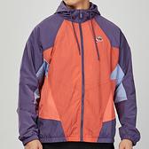 Nike AS M NSW HE WR JKT WVN SIGN男子 紫橘 防風 連帽 長袖 外套 CJ4359-603