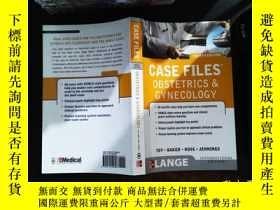 二手書博民逛書店case罕見files obstetrics&gynecologyY167411