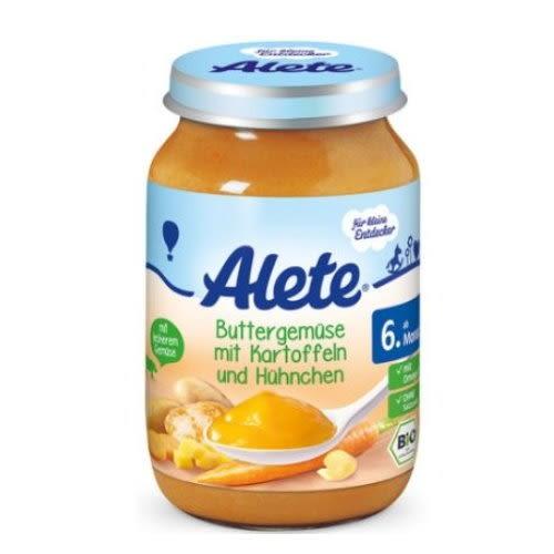 Alete蔬菜馬鈴薯雞肉泥190g 6個月大以上幼兒適用【德芳保健藥妝】