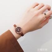 手錶女風中學生韓版簡約森系學院風女士小巧精致氣質『艾麗花園』