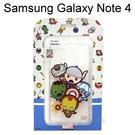 復仇者聯盟Q版透明軟殼 [大集合] Samsung Galaxy Note 4 N910U【正版授權】