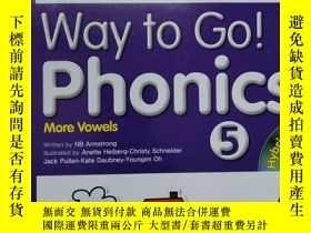 二手書博民逛書店way罕見to go phonics 5Y254800 NB Armstrong NB Armstrong