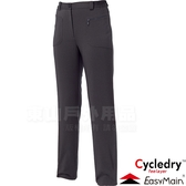 EasyMain衣力美 RE15058-79碳黑 女保暖休閒褲 快乾機能褲/防風80%戶外運動褲 輕量耐磨