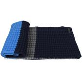 茱麗葉精品 全新精品 BURBERRY 3944299 時尚配件喀什米亞羊毛長圍巾.藍/深藍
