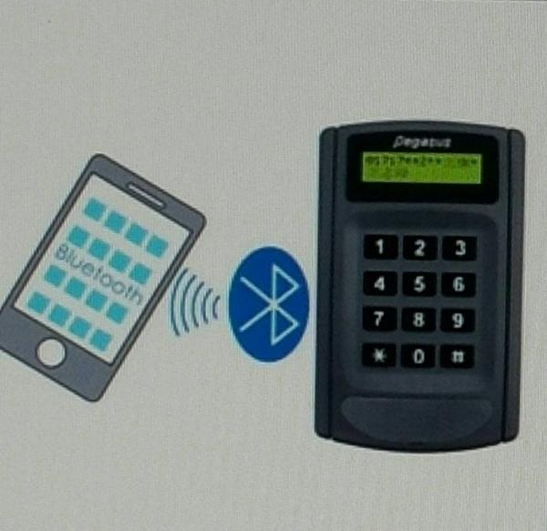 pegasus PP-6750V 液晶顯示門禁考勤感應讀卡機(門禁 / 出勤 刷卡機 陰極電鎖 磁力鎖 電磁鎖