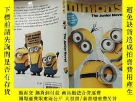 二手書博民逛書店minions罕見the junior novel :《奴才》初級 小說..Y200392