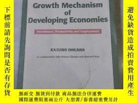 二手書博民逛書店crowth罕見mechanism of developing