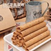 好食光 日式芝麻蛋捲(85g)-真空包盒裝