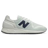 New Balance 247 v3 男鞋 女鞋 休閒 網布 輕量 流線 白 藍【運動世界】MS247SB3
