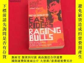 二手書博民逛書店EASY罕見RIDERS RAGING BULLS【稀缺本】24