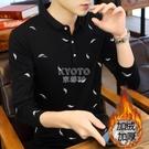 快速出貨秋冬季新款男士POLO衫男裝長袖T恤韓版潮流青年