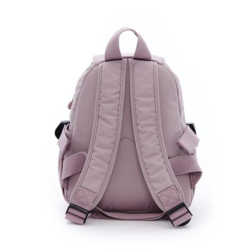 B.S.D.S冰山袋鼠 - 時光旅人 - 知性防潑水多口袋小後背包 - 淡紫色【B00151PR】