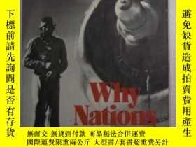 二手書博民逛書店英文原版罕見Why Nations Go to War by J