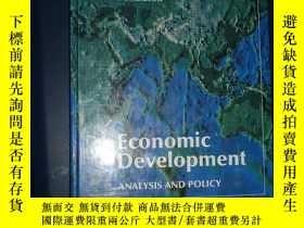 二手書博民逛書店economic罕見development analysis a