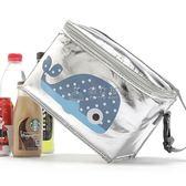 野餐袋 兒童保溫包手提便當包燒烤便當袋加厚保暖飯盒袋冰包防水 俏女孩