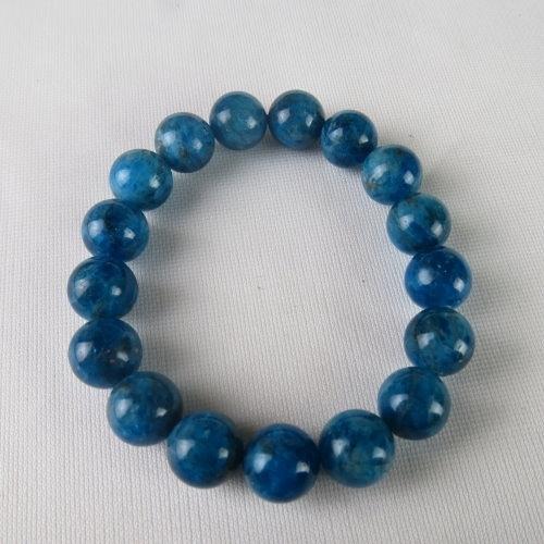 天然藍灰磷手鍊 #1762 12mm