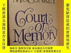二手書博民逛書店JAMES罕見McCONKEY:Court of Memory