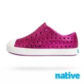 native 小童鞋 JEFFERSON 小奶油頭鞋-星鑽桃x貝殼白