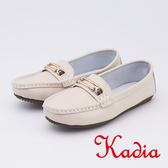 kadia.柔軟舒適 牛皮包鞋(9531-30米色)