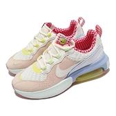 Nike 休閒鞋 Wmns Air Max Verona 橘 紅 格紋內裡 編織設計 氣墊 女鞋 厚底 【ACS】 DJ5054-813