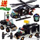 小積木男孩子拼裝軍事飛機兒童節女孩益智玩具禮物6-7-8-10歲 印象家品