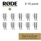 【EC數位】RODE invisiLav 10 pack 領夾式 麥克風 INVISI10PK 收音 隱藏式 採訪 錄影