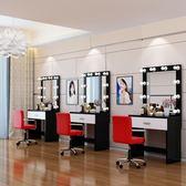梳妝台影樓梳妝台化妝台帶燈專業梳妝台臥室簡約現代化妝桌led燈經濟型