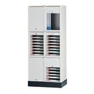 捲門式公文櫃系列-CP-6202+CP-6207x2+CP-02 二排腳座