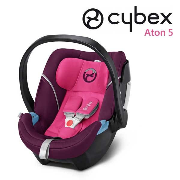 Cybex ATON 5 嬰兒提籃型安全座椅/ 嬰兒汽座- 神秘粉 MYSTIC PINK