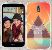 ♥ 俏魔女美人館 ♥ {三角麋鹿*水晶硬殼} HTC Desire 526G+手機殼 手機套 保護套