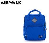 【橘子包包館】AIRWALK 微笑機器人 輕量純色手提後背二用包 A615322082 藍色