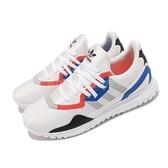 adidas 休閒鞋 Originals Flex J 白 藍 女鞋 大童鞋 愛迪達 運動鞋【ACS】 FX5321
