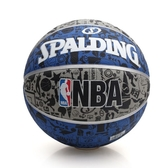 SPALDING NBA 塗鴉系列 斯伯丁籃球(戶外 運動 ≡體院≡