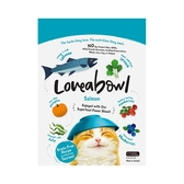 寵物家族-Loveabowl囍碗-無穀天然糧-全齡貓-鮭魚配方150g
