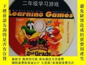 二手書博民逛書店二年級學習遊戲罕見2nd Grade 1張光盤Y247232 K