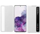 【免運費】SAMSUNG Galaxy S20+ 原廠透視感應皮套【白】