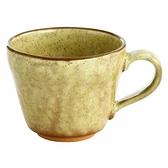 【日本製】YUKURI 美濃燒 陶瓷咖啡杯 黃色 SD-6497 - 日本製 美濃燒