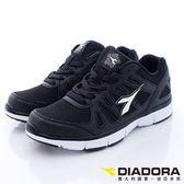 【DIADORA】極簡機能慢跑款-WR2820黑(女段)