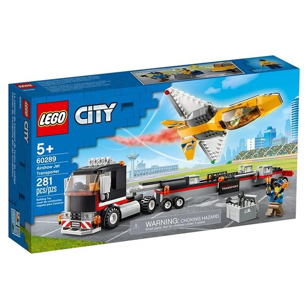 LEGO樂高 City 城市系列 空中特技噴射機運輸車_LG60289