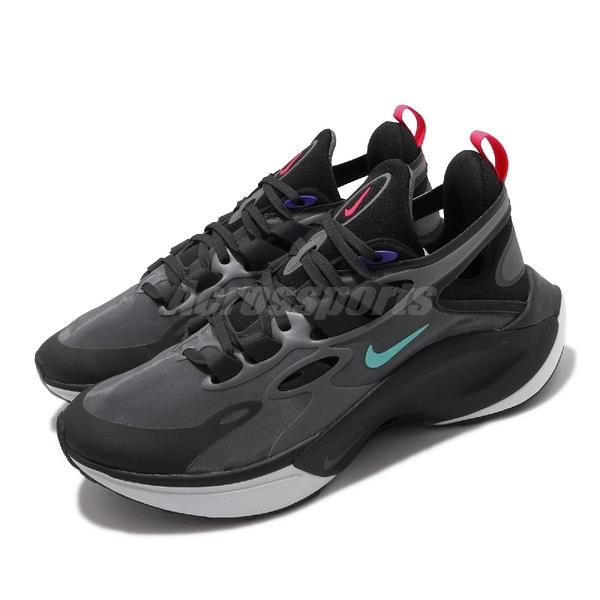 Nike 休閒鞋 Signal D/MS/X 黑 灰 男鞋 運動鞋 【ACS】 AT5303-005