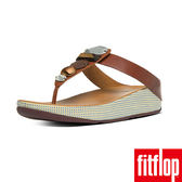 FitFlop TM-JEWELEY TM TOE-POST-深褐色