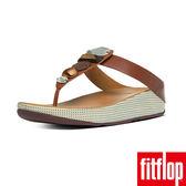 FitFlop TM-JEWELEY TM TOE-POST-深褐色